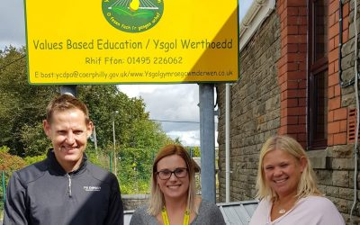 Jordan Lea Doran has made a huge impact at Ysgol Gymraeg Cwm Derwen.